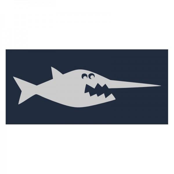 Reflektoraufbügler, Sägefisch, groß