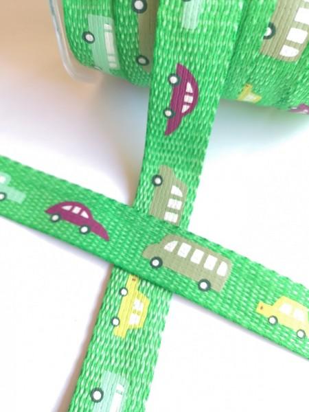 Gurtband, Autos grün