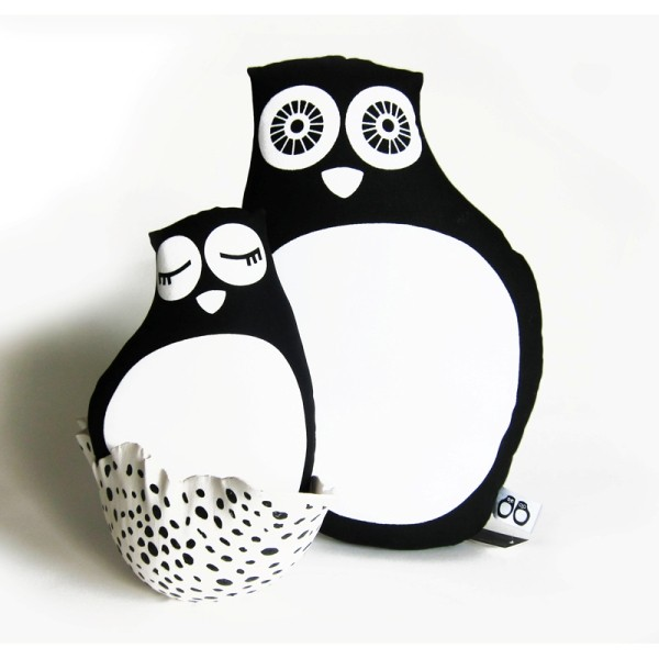 DIY OWL black, Design Kit *SALE*