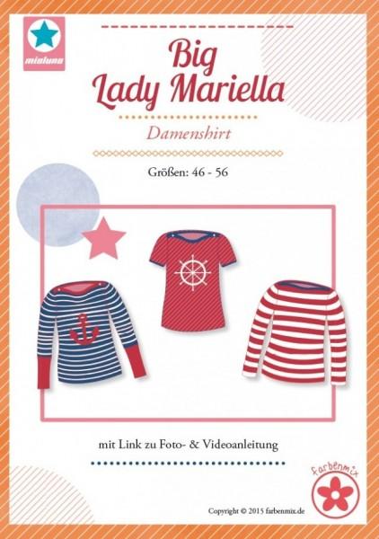 Big Lady MARIELLA, Damenshirt, FM-Schnittmuster