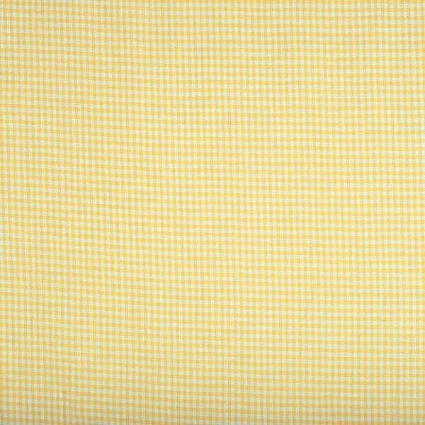 Vichykaro, klein, gelb-weiß kariert
