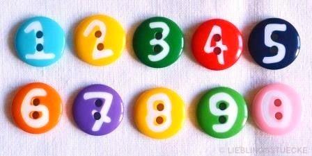 Zahlen, Knopf