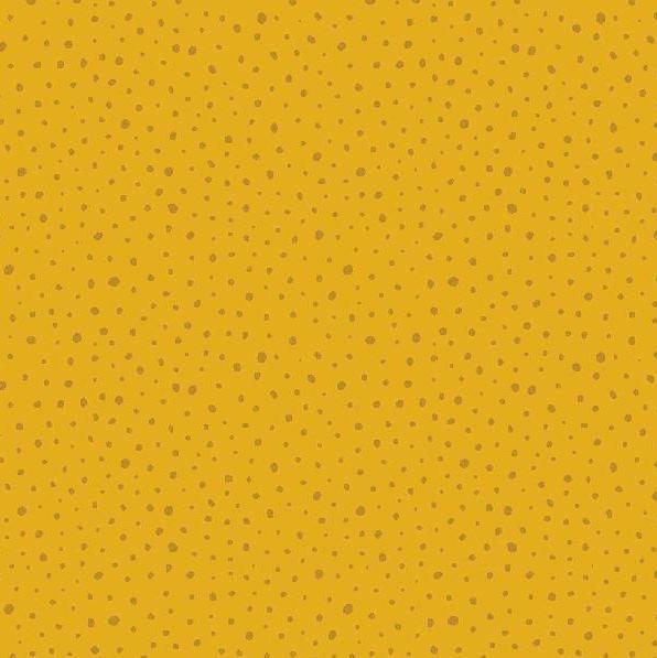 Glitter Dots senf, Jersey