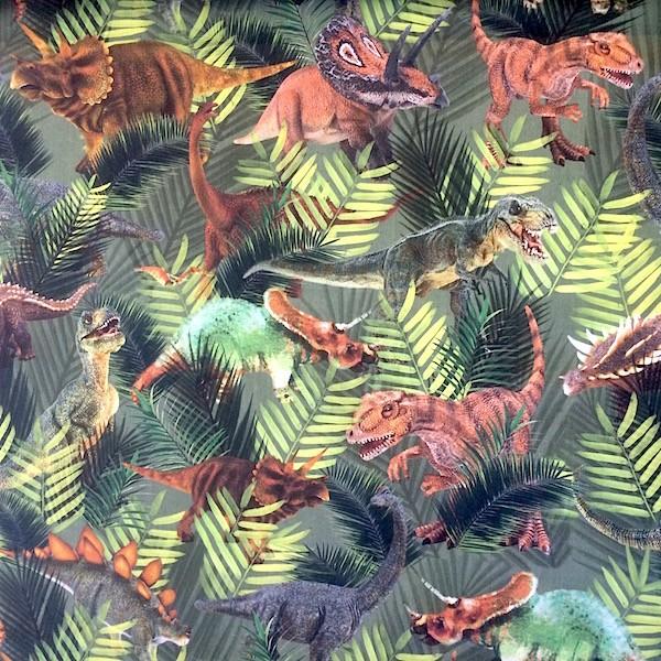 Digitaldruck Dinos, Webstoff