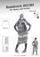 HELMA, Rundrock für Mutter und Tochter, FM-Schnittmuster