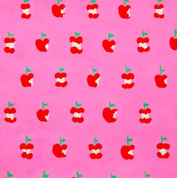A. Henry, Apple A Day, pink, Webstoff