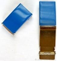 Gürtelschnalle, 2,5 cm, dunkelblau