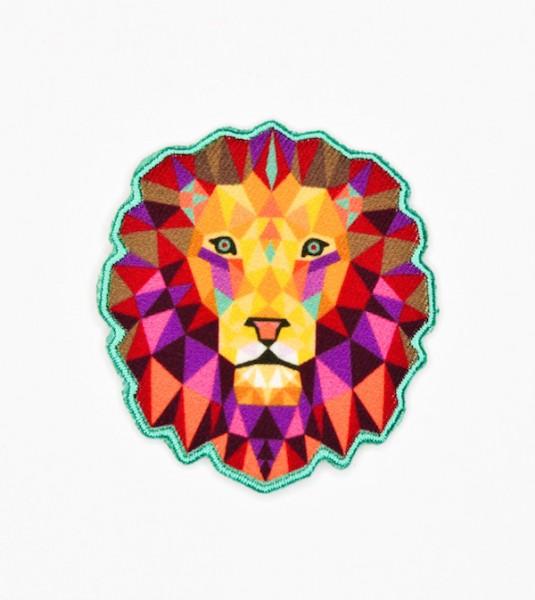 Applikation Löwenkopf