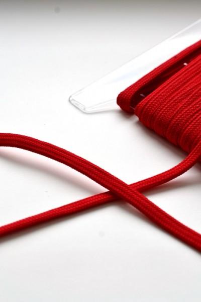 breite Kordel, 10 mm, rot