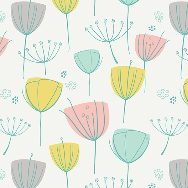 Art Gallery Fusion Reverie Floral Frolic, Webstoff