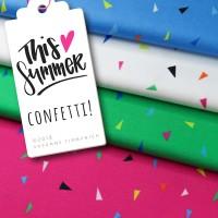 This Summer, Confetti blue, Bio-Jersey