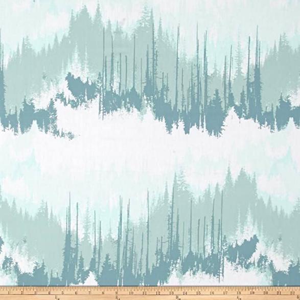 Art Gallery, Blithe Evergreens Frozen, Baumwollstoff