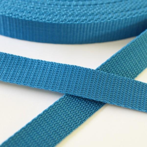 Gurtband, türkisblau