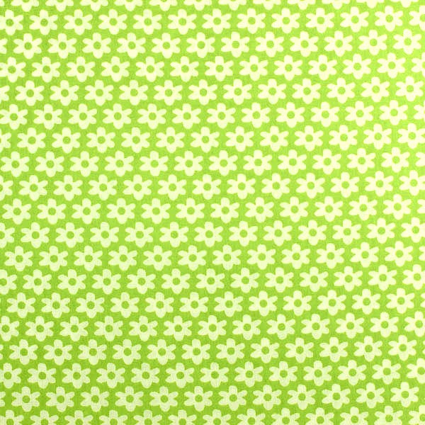 Miri Blümchen, hellgrün, Webstoff