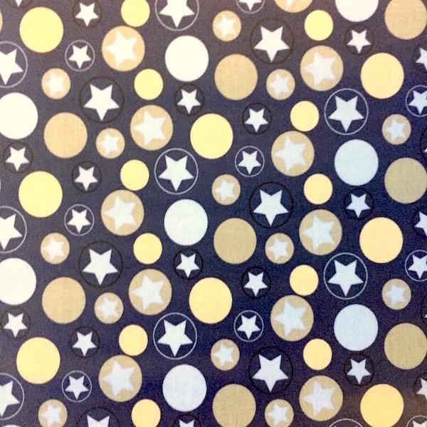 Laminat, Sterne und Kreise auf graublau
