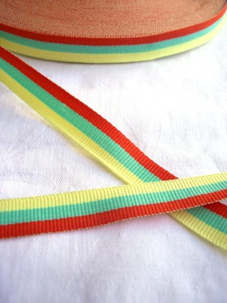 Band, 15 mm, gelb-grün-orange *SALE*