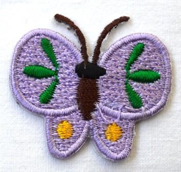 Applikation Schmetterling, lila