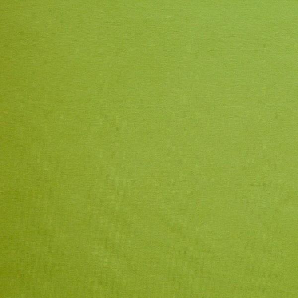 lillestoff Bio-Bündchen glatt papageiengrün-meliert