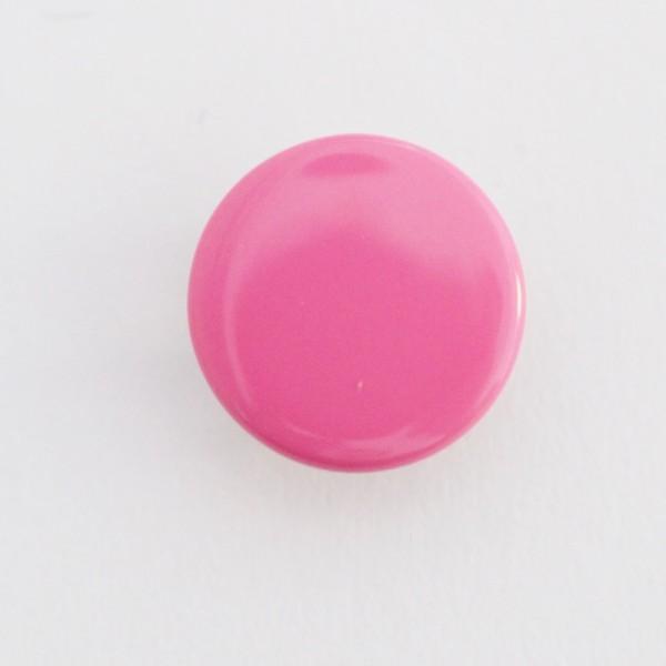 Druckknopf, pink, 10 mm