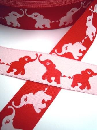 ZNOK Elephants red, Webband