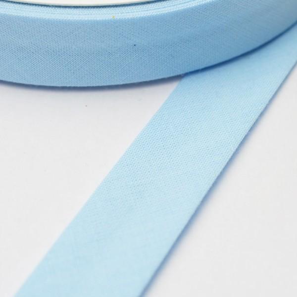Schrägband, 20 mm, babyblau