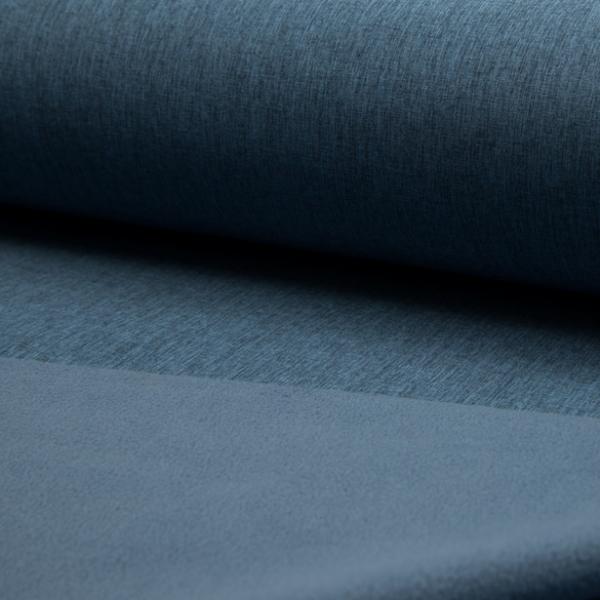 Softshell jeansblau-meliert