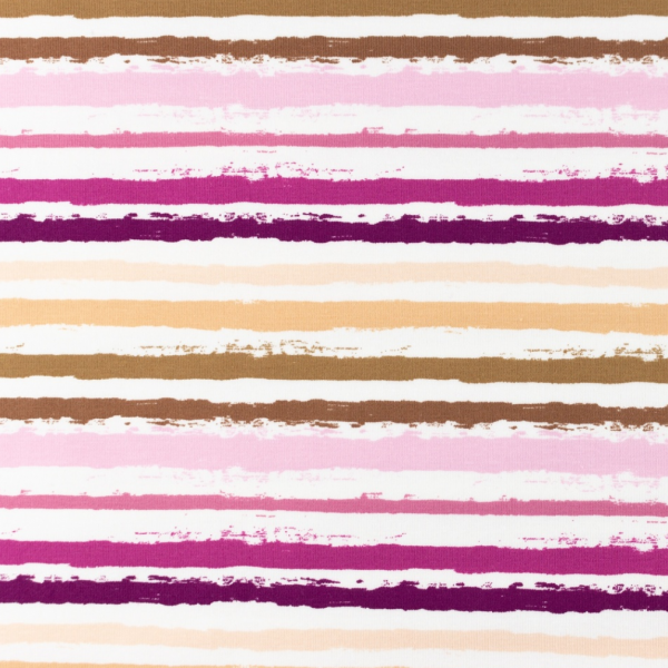 Color Stripes klein, sand/rosa Jersey