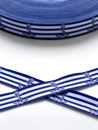 Anker blaugestreift, Webband