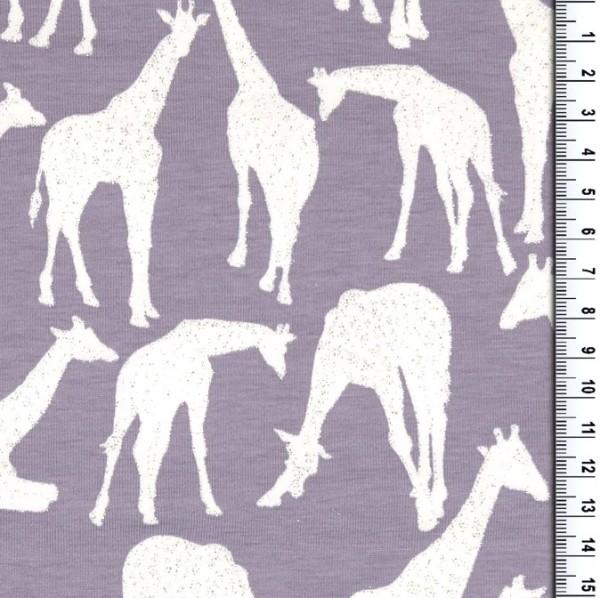 Glitzer-Giraffen fieder, Jersey