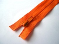 Reißverschluss, teilbar, orange