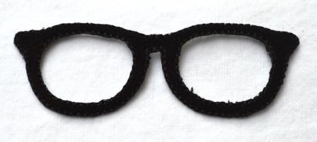 Applikation Brille