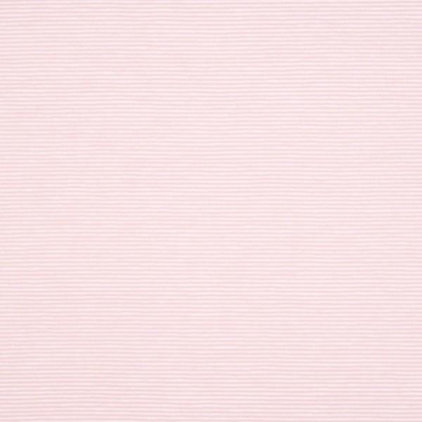 Valentin Streifenjersey mini, rosa-weiß