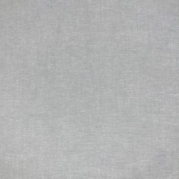 Yarn Dyed hellgrau, Baumwollpopeline, waschbar bei 60°