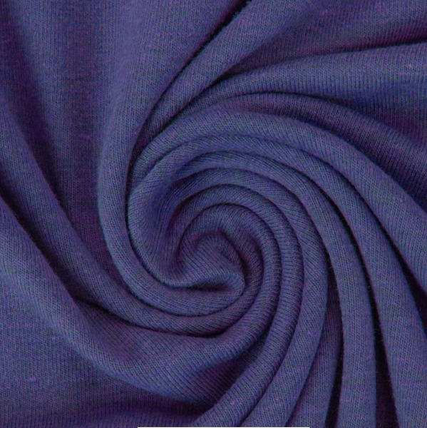 Jersey, blauviolett-meliert