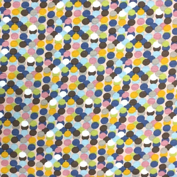 Florence Dots flieder, Viskosejersey, *Letztes Stück ca. 130 cm*