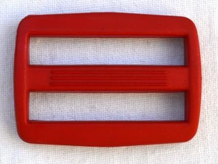 Kunststoffschieber, 49 mm, rot