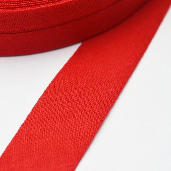 Schrägband, 20 mm, rot