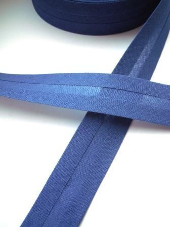 Schrägband, 20 mm, mittelblau