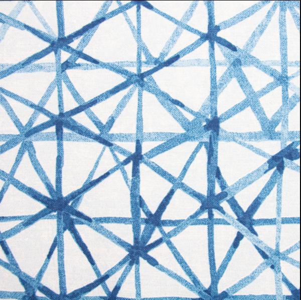 Dekostoff, Batik-Style Linien