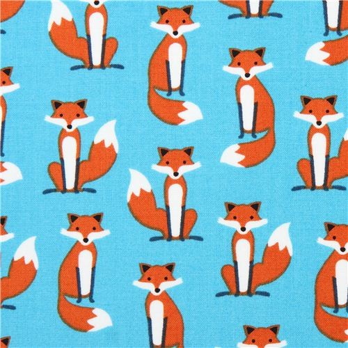 R. Kaufman, Fabolous Foxes, Tiny Foxes blue