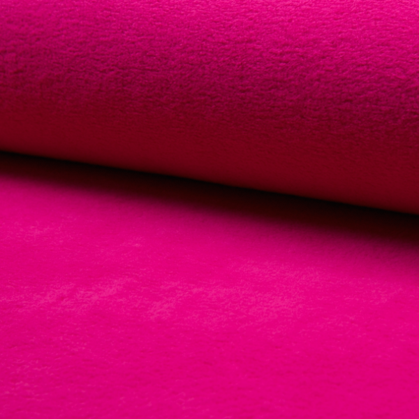 Baumwollfleece pink