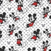 Disney, Mickey Relaxed weiß, Webstoff