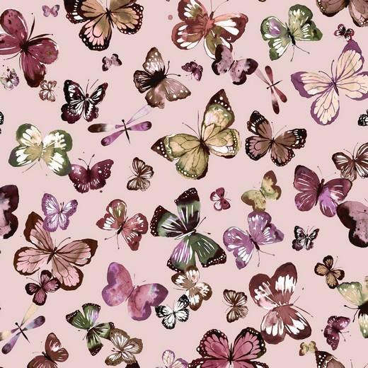 Bio-Sweat, Digitaldruck Butterfly rosa