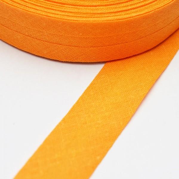 Schrägband, 20 mm, hellorange