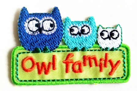 Applikation Owl family
