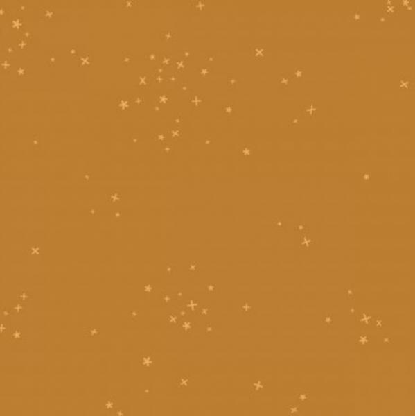 Cotton+Steel, Basics Sternchen senfgelb, Webstoff
