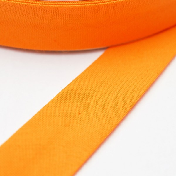 Schrägband, 20 mm, orange
