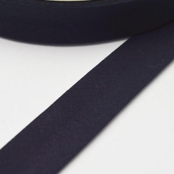 Schrägband, 20 mm, navy