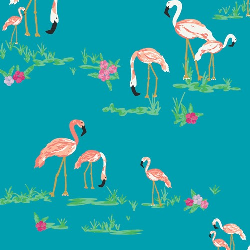 Art Gallery, Flamingo Field Marina, Baumwollstoff