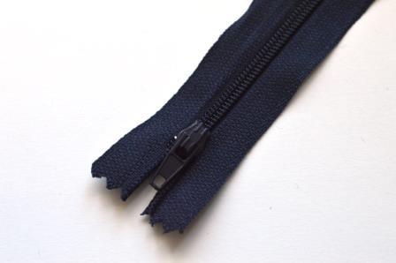 Reißverschluss, dunkelblau